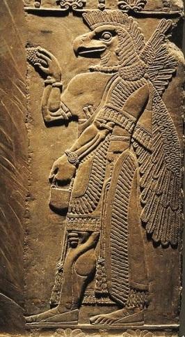 Enki Assyrian God 04242016