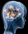 Woman's mind imagination